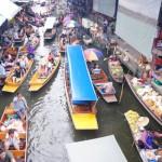 丹嫩莎杜艾水上市场(Damnoen Saduak Floating Market)