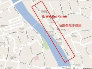 Wat Ket Karam Map