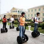 赛格威二轮车遨游曼谷街头 (Segway Tour)